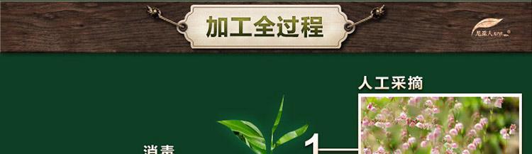 罗布麻茶加工过程