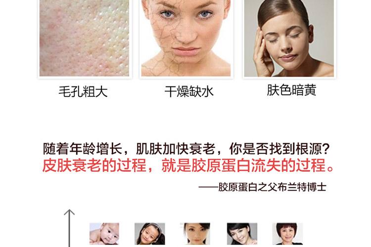 年龄增长导致肌肤衰老